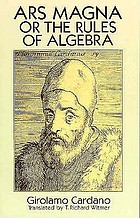 Ars magna, or, The rules of algebra