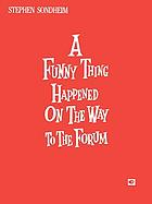 A funny thing happened on the way to the forum original Broadway cast