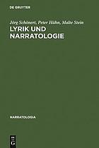 Lyrik und Narratologie : Text-Analysen zu deutschsprachigen Gedichten vom 16. bis zum 20. Jahrhundert