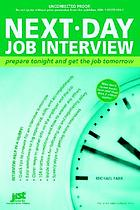 Next-day job interview : prepare tonight and get the job tomorrow