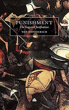 Punishment: the supposed justifications