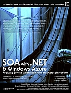 SOA with .NET and Azure Description based on print version record