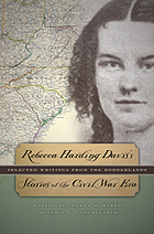 Rebecca Harding Davis's stories of the Civil War era : selected writings from the borderlands