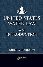 United States water law : an introduction