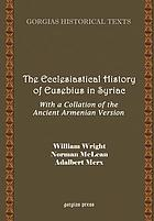 The ecclesiastical history of Eusebius in Syriac