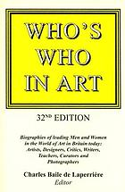 Who's who in art : biographies of leading men and women in the world of art today -- artists, sculptors, photographers, critics, writers, lecturers and curators
