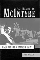 William R. McIntyre paladin of the common law