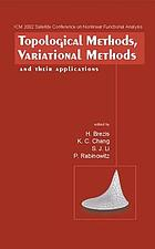 Topological methods, variational methods and their applications : Taiyuan, Shan Xi, P.R. China, August 14-18, 2002