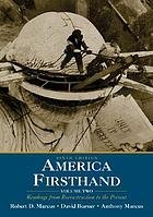 America firsthand : readings in American history