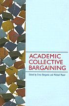 Academic collective bargaining
