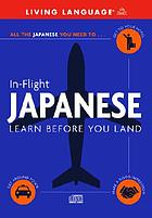 In-flight Japanese : learn before you land