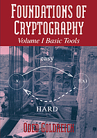 Foundations of cryptography--a primer