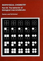 The behavior of biological macromolecules