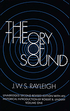 The theory of soundThe theory of sound