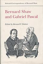 Selected correspondence of Bernard Shaw
