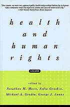 Health and human rights : a reader