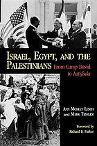 Israel, Egypt, and the Palestinians : from Camp David to Intifada