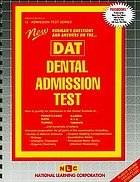New Rudman's questions and answers on the ... DAT, dental admission test