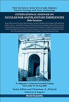 "International Seminar on Nuclear War and Planetary Emergencies : 36th session, ""E. Majorana"" Centre for Scientific Culture, Erice, Italy, 19-24 Aug. 2006"