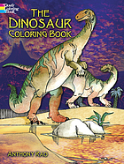 The dinosaur coloring book