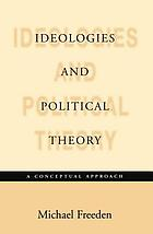 Ideologies and political theory a conceptual approach