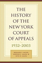 The history of the New York Court of Appeals, 1932-2003