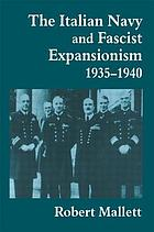 The Italian Navy and Fascist expansionism, 1935-40