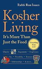 Kosher living : it's more than just the food