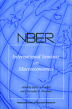 NBER International Seminar on Macroeconomics