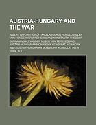 Austria-Hungary and the war