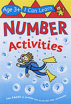 Number activities : age 3+
