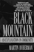Black Mountain; an exploration in community
