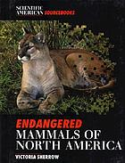 Endangered mammals of North America