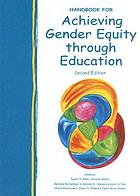 Handbook for achieving gender equity through education
