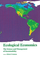 Ecological economics : the science and management of sustainability