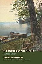 The canoe and the saddle a critical edition