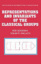 Representations and invariants of the classical groups