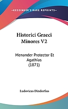 Menander Protector et Agathias