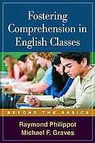 Fostering comprehension in English classes : beyond the basics