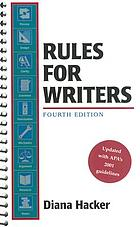 Rules for writers : a brief handbook