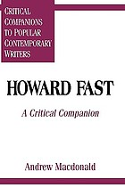 Howard Fast a critical companion