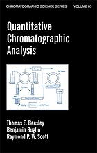 Quantitative chromatographic analysis