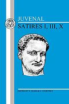 Satires. Book 1