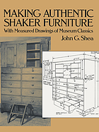 The American Shakers and their furniture, with measured drawings of museum classics