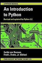 An introduction to Python : for Python version 3.2