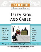 Career opportunities in television and cable