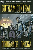Gotham Central. in the line of duty