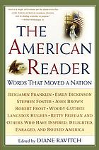 The American reader : words that moved a nation