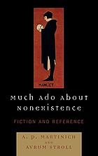 Much ado about nonexistence : fiction and reference