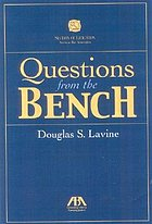 Questions from the bench